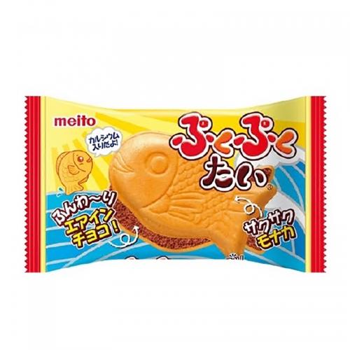 【直邮】日本Meito名糖鲷鱼烧造型夹心饼干华夫饼巧克力味1...