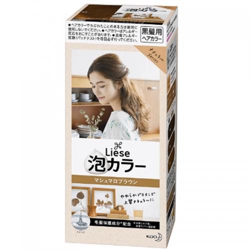 【保税】日本KAO花王泡沫染发剂棉花糖棕108ml