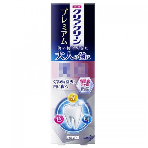 【直邮】日本KAO花王牙膏牙齿护理100g
