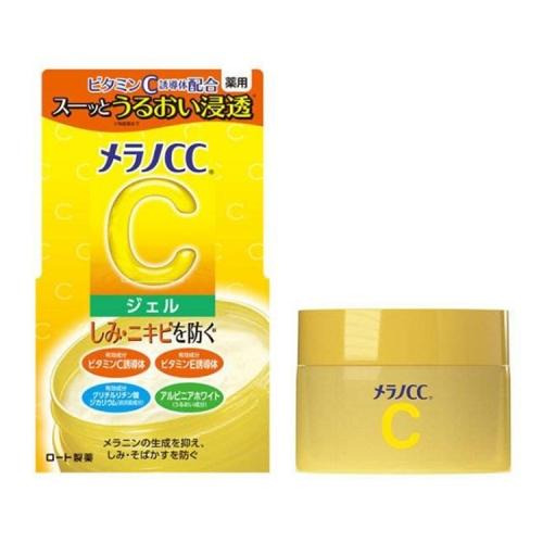 【直邮】日本ROHTO乐敦CC高渗透淡斑啫喱保湿面霜100g