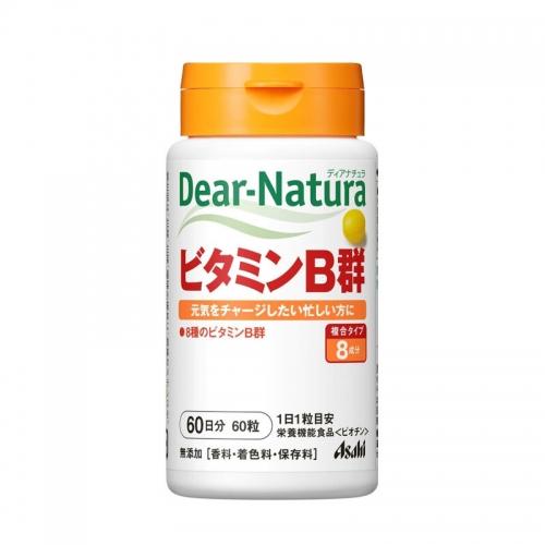 【直邮】日本ASAHI朝日Dear-Natura维生素B族B...