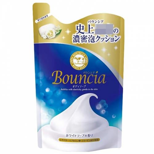【直邮】日本COW牛乳石碱沐浴露玫瑰花/牛奶皂香替换装400...