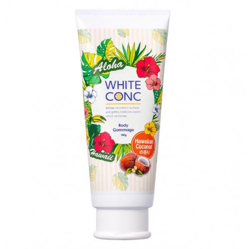 【批发】日本WHITE CONC夏威夷椰子味身体乳180g