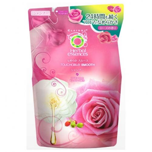 【批发】日本Herbal Essences柔滑洗发水替换装340ml