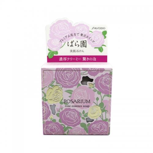 【直邮】日本SHISEIDO资生堂玫瑰园香氛洁面沐浴香皂100g